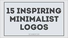 15 Inspiring Minimalist Logos