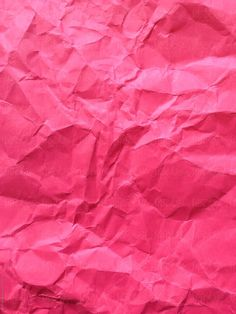Close up of crumpled piece of colorful construction paper by Paul Edmondson for Stocksy United Source by ediphotoeye Pink Texture, Paper Texture, Pink Wallpaper, Wallpaper Backgrounds, Wallpapers, Pink Love, Pretty In Pink, Hot Pink, Crumpled Paper