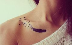 small birds of a feather tattoo
