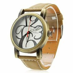 Tanboo Unisex PU Analog Quartz Wrist Watch 0020 (Brown) by Tanboo. $11.99. Women's, Men's Watche. Wrist Watches. Casual Watches. Gender:Women's, Men'sMovement:QuartzDisplay:AnalogStyle:Wrist WatchesType:Casual WatchesBand Material:PUBand Color:WhiteCase Diameter Approx (cm):3.5Case Thickness Approx (cm):1Band Length Approx (cm):23.7Band Width Approx (cm):2