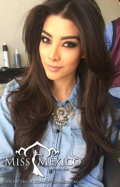 Miss Mexico Universe Wendolly. Jeans Pant Shirt, Miss Universe 2015, Light Brown Hair, Love Hair, Hair And Nails, Hair Inspiration, Cool Hairstyles, Hair Makeup, Hair Beauty