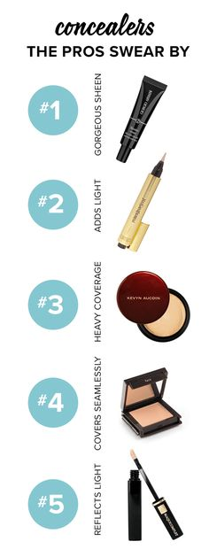 We've got options upon options when it comes to picking the perfect concealing formula. Since concealer is one of those products that simply must perform well, we reached out to our favorite makeup artists to help us narrow the options. Here are the ten picks they apply on their clients and themselves.