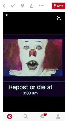 I hate Pennywise