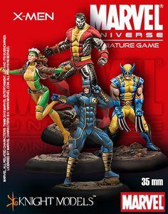Marvel Universe Miniature Game X-Men Starter Set | Nerdvana Gaming
