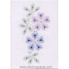 paper embroidery / card making