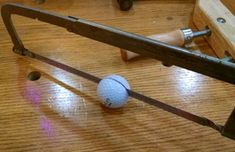 3 Super Easy Golf Ball Hacks : 16 Steps (with Pictures) - Instructables Golf Tiger Woods, Woods Golf, Golf 7 R, Disc Golf, Golf Ball Crafts, Bottle Cap Table, Cooler Painting, Club Face, Frat Coolers