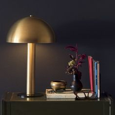 Sidnie Lamp Natural Brass is part of Brass Home Accessories Floor Lamps Inspired by midcentury Italian design, the Sidnie Lamp is a splendid mixture of shape and texture—a lamp that looks just a - Interior Styling, Interior Decorating, Schoolhouse Electric, American Manufacturing, Brass Sconce, Vintage Chandelier, Desk Lamp, Table Lamps, Home Accessories