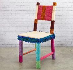 Yarn Wrapped Chair