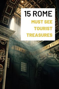 Heres a list of interesting things to do in Rome Italy. Use it to organize your trip to Rome. It will give you a ton of ideas of what to do in Rome and the best places to see. The list contains important Rome must see attractions and historic sites, including the most common tourist attractions that millions of people see each year.
