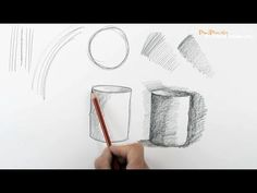Start Drawing: PART 1 - Outlines, Edges, Shading - YouTube