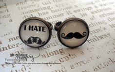 ♥ Lot de 2 bagues cabochon bronze, moustache ♥ : Bague par celina-pearl-petite-seance-shopping