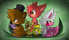 Five Nights at Freddys 2 cuties