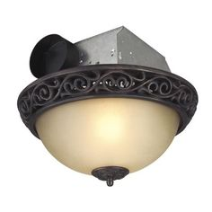 hunter riazzi decorative 110 cfm ceiling exhaust bath fan 107 rh pinterest com