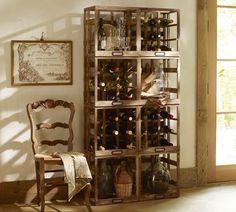 Modular Wine Storage - eclectic - wine racks - Pottery Barn