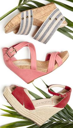 Sole Society Summer Wedges: Emilia, Elisabeth, Louanna