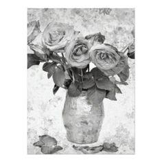 Roses Invite #Rose #Flower #Invitation #Announcement