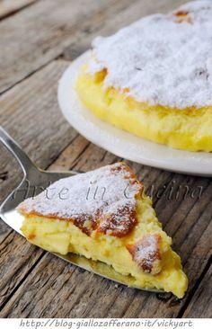 Torta giapponese al cioccolato bianco cotton cake velocissima vickyart arte in cucina