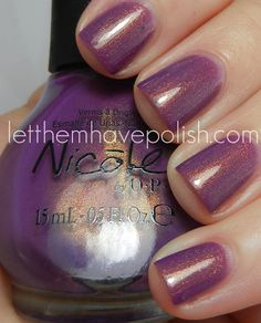 New for Spring/Summer 2012, Nicole by OPI Purple Yourself Together
