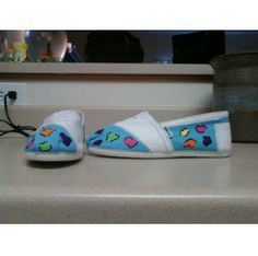 My hand painted shoes...