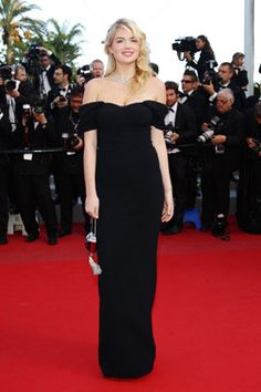 """Kate Upton attends the """"On The Road"""" premiere wearing Dolce & Gabbana during the 65th Annual Cannes Film Festival at Palais des Festivals on May 23, 2012, in Cannes."""