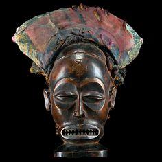 Chokwe Chihongo (Spirit of Wealth) Mask, Angola http://www.imodara.com/post/102101048724/angola-chokwe-chihongo-spirit-of-wealth-mask