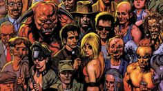 """A live-action version of Garth Ennis and Steve Dillon's Preacher comic book may finally be realized. Read on after the jump for the excerpt. Based on Ennis and Steve Dillon's comic book series, """"Preacher"""" is about Jesse Custer, a preacher in a. Preacher Comic Book, Steve Dillon, Dominic Cooper, Vertigo Comics, Supernatural Tv Show, Angel And Devil, Willie Nelson, Illustrations, Movie Theater"""