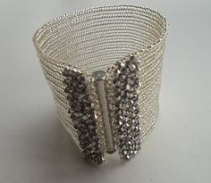 Herringbone bracelet Beadwork bracelet Absolutely stunning!!!!