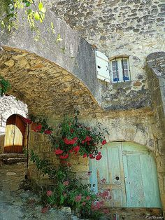 Flower Passage, Ardèche, France