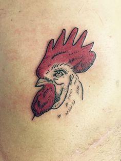 #Chicken #Tattoo #Cubo