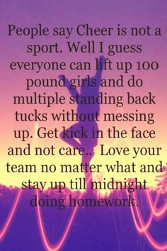 #Cheer #quotes #ideas #sport Sport Outfit Volleyball 37 Super Ideas Sport Outfit Volleyball 37 Super Ideasbrp classfirstletterOur web page has been carefully produce for you  Scroll down for other different cheer quotes compelling TopicpIf you use this pin where appropriate size is required the width and height of the pin will also be very important to you Therefore we wanted to give you information about this The width of this pin is 429brThe height of the pin is determined as 638 You can… Funny Cheer Quotes, Cheer Qoutes, Cheer Funny, Sport Quotes, Cheer Sayings, Inspirational Cheerleading Quotes, Quotes Inspirational, Motivational Quotes, Cheer Tryouts