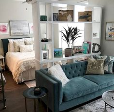 Cozy apartment studio decorating ideas (10)