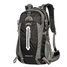 Sunhiker Hiking Backpack 50L 40L with Waterproof Backpack Cover ** Check out this great product.
