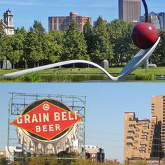 Downtown Minneapolis Food Tour: On this Downtown Minneapolis Food Tour, you will discover the best cuisine in the area while taking in some of the city's beautiful sights and famous landmarks. #Minneapolis #FoodTour #GrainBeltBeer