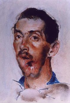 Henry Tonks watercolour documenting facial injuries of the First World War. Human Zoo, War Image, English Artists, A Level Art, Pastel Drawing, World War I, Military History, Wwi, First World
