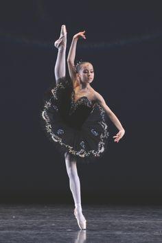 Miko Fogarty at the Youth America Grand Prix finals. Photo by Hideaki Tanioka.