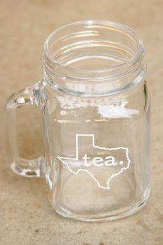 Texas Tea - Mason Jar Mug – Tumbleweed TexStyles