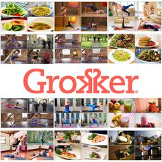 Grokker Yoga, Fitness and Cooking Videos jillconyers.com @fitapproach #sweatpink @grokkerinc