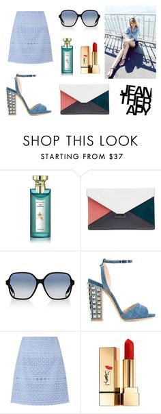 """[Jean-Therapy] BRYAN YANG'S PERFECT MATCHING 215"" by bryan-yang on Polyvore featuring Bulgari, CÉLINE, Victoria Beckham, Philipp Plein, Therapy, Lipsy and Yves Saint Laurent"