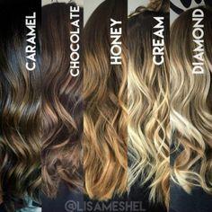 Iluminar o cabelo sem precisar ficar loiríssima - e, consequentemente, não agredir tanto os fios? Seu desejo é uma ordem. Lá no Pinterest...