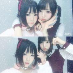 まきろん。 @makiron716  10月28日 一緒にいて服装も全然違うのにすれ違いざまに 「双子?姉妹?」っていつも言われる😌💭🍒  言われなかった日が一度もない😌笑  Alice