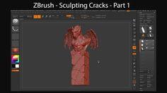 ZBrush Tutorials - Sculpting Cracks