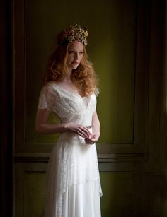 Sally Lacock, Vintage Inspired Vintage Wedding Dress Collection 2012-2013 | Mia I WOULD DO ANYTHING FOR THIS DRESS!!!!!