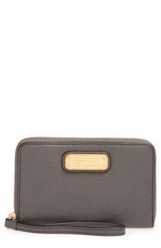 MARC BY MARC JACOBS 'New Q Wingman' Wallet Wristlet available at #Nordstrom