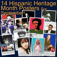14 Posters of Diverse Hispanic Americans History Lesson Plans, History Class, Teaching History, Selena, Gary Soto, Teaching Government, Sandra Cisneros, Sammy Sosa, Science Art