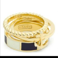 Coach Ring Size 7