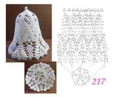 217 Crochet Christmas Ornaments, Christmas Crochet Patterns, Holiday Crochet, Crochet Snowflakes, Handmade Ornaments, Christmas Knitting, Crochet Ball, Diy Crochet, Crochet Doilies