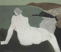 Milton Avery, Nude on the Beach