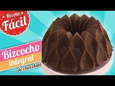(73) BIZCOCHO INTEGRAL DE CHOCOLATE | Receta fácil | Quiero Cupcakes! - YouTube