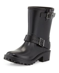 <MKFMGLOBALCOPY-mmk> Devenport Rain Bootie by MICHAEL Michael Kors at Neiman Marcus.
