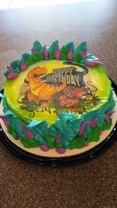 Dairy Queen Cake Dinosaurs